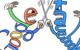 Cuộc chiến giữa Google và Facebook: 3 điều đáng chờ đợi trong năm 2016