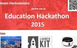 Cuộc thi sáng tạo phần mềm giáo dục Vietnam Hackademics 2015