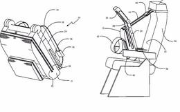 """Liệu """"ghế ôm"""" kì lạ của hãng Boeing sẽ cách mạng hóa cách ngủ trên máy bay?"""