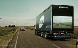 Xe tải xuyên thấu: Giảm pháp lái xe an toàn của Samsung