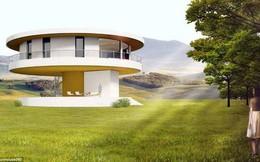 Độc đáo ngôi nhà có thể tự xoay 360 độ