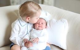 Nước Anh giàu có hơn nhờ tiểu công chúa 7 tháng tuổi
