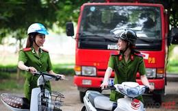 Một ngày làm việc của những nữ cảnh sát PCCC