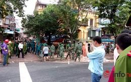 Sập nhà cổ tại 107 Trần Hưng Đạo, Hà Nội