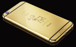 """Ra mắt iPhone 6 mạ vàng 24K phiên bản """"Năm Con Dê"""""""