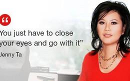 Lọ lem gốc Việt Jenny Ta: 'Cứ nhắm mắt và làm đi, đừng nghĩ nhiều'