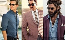 6 kiểu kính mắt sành điệu nhất dành cho nam giới