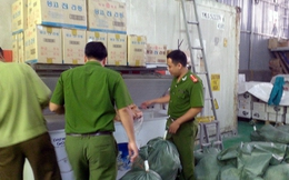 Gần một tấn kim chi 'trôi nổi' chuẩn bị đến nhà hàng Hàn Quốc