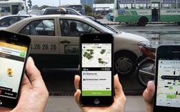 """Cận cảnh Taxi Hà Nội """"đấu"""" trực diện với Uber, Grab tại Bộ Công thương"""