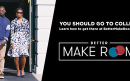 Cách làm đầy ấn tượng của bà Michelle Obama để động viên việc học đại học
