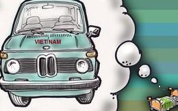 Tan 'giấc mộng' ô tô Việt Nam?