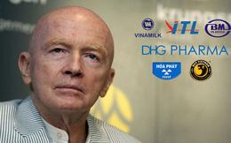 Gần 5.000 tỷ đồng của Mark Mobius tại Việt Nam gồm những gì?