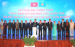 """Hàng Việt chính thức kết nối """"một cửa"""" vào ASEAN"""