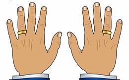 [Infographic] Ngón tay đeo nhẫn của nam giới và những tiết lộ thú vị