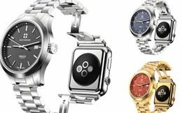 Thêm 8.000 USD, khách hàng sẽ có Apple watch lai đồng hồ Thụy Sĩ