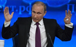 Ông Putin: Tôi không chịu trách nhiệm về sự sụp đổ của đồng Rúp