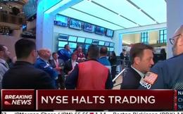 Sàn NYSE bỗng dưng ngừng giao dịch