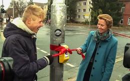 Ở Đức, nếu dừng đèn đỏ thì bạn sẽ được chơi game