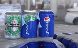 48.000 lon bia Heineken khoác áo Pepsi để nhập lậu