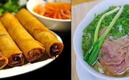"""Đưa """"quốc túy"""" Việt lên bản đồ ẩm thực thế giới: Chọn phở hay chả giò?"""