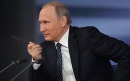 """Những câu trả lời """"đỉnh"""" của Putin trong cuộc họp báo cuối năm"""