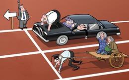 1% người giàu nhất nắm giữ một nửa tài sản thế giới