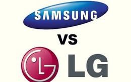 Cuộc chiến LG vs. Samsung: Các lãnh đạo hầu tòa vì cáo buộc phá hoại lẫn nhau