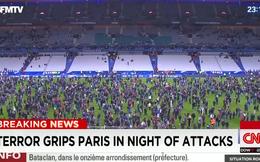 Video ghi lại thời khắc vụ nổ khủng bố gần sân vận động Stade de France