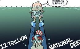 [Infographics] Sự thật về 'con nợ' 59,7 nghìn tỷ USD của thế giới