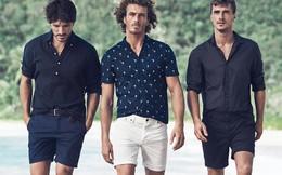 Tailored shorts sành điệu cho nam giới