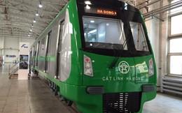 Chính thức lộ diện mẫu tàu đường sắt đô thị Cát Linh - Hà Đông
