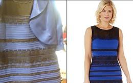 Vì sao bạn thấy váy này màu xanh đen còn người khác thấy vàng trắng?