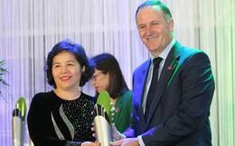Tổng giám đốc Vinamilk nhận giải thưởng New Zealand ASEAN