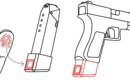 Tích hợp máy quét vân tay vào súng để đảm bảo sự an toàn