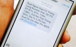 Chặn gần 1 triệu thuê bao phát tán tin nhắn rác, lừa đảo