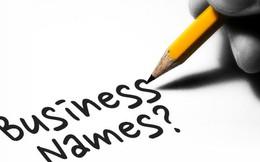 7 thủ thuật cần nhớ khi đặt tên cho công ty của bạn