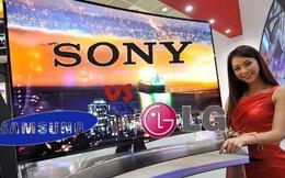 Mua tivi: Chọn hàng bền như Sony, nhiều mẫu mã giống Samsung hay giá rẻ kiểu LG?