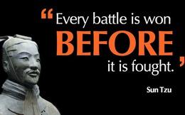 Binh pháp Tôn Tử trong kinh doanh: Biết người biết ta, trăm trận bất bại