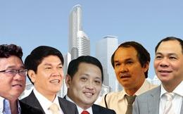 10 doanh nhân bất động sản giàu nhất sàn chứng khoán Việt nam