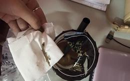 Hà Nội: Xôn xao cốc trà sữa mua ở quán Ding Tea có chứa thạch sùng?