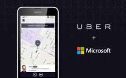 Microsoft rót hàng trăm triệu USD đầu tư vào Uber