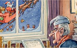 """Lá thư gửi ông già Noel của một nhà đầu tư """"hà tiện"""""""
