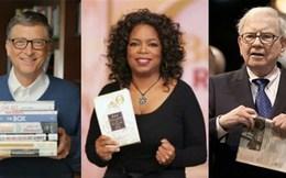 Vì sao Bill Gates, Warren Buffett, Oprah Winfrey thích đọc sách?