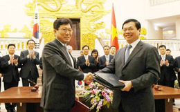 'Sắt thép sẽ chịu sức ép từ FTA Việt Nam - Hàn Quốc'