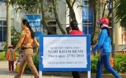 Kỷ niệm ngày thầy thuốc Việt Nam, bệnh viện nghỉ khám bệnh