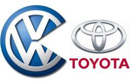 Volkswagen soán ngôi Toyota về số lượng xe hơi bán ra năm 2014