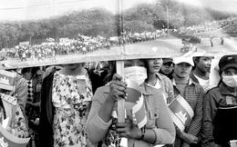 Tăng trưởng 1%, ngành dệt may Campuchia lâm nguy