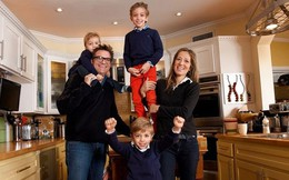 """11 công ty tuyệt vời cho nhân viên """"lên chức"""" bố mẹ"""