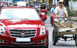 Người Việt cần 17 năm không ăn, không tiêu mới đủ tiền mua xe hơi