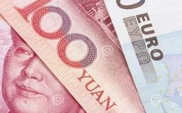 Nhân dân tệ vào rổ tiền tệ quốc tế là 'vận xui' của đồng Euro